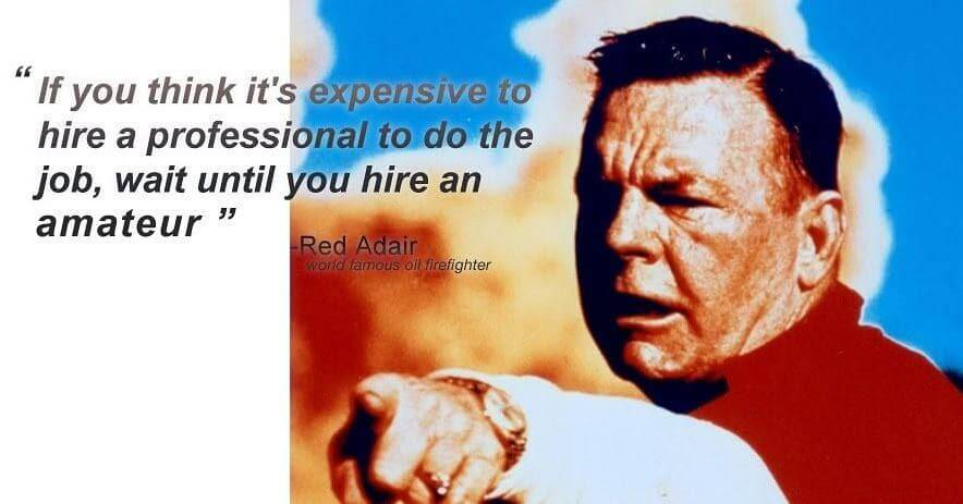 Red Adair quote