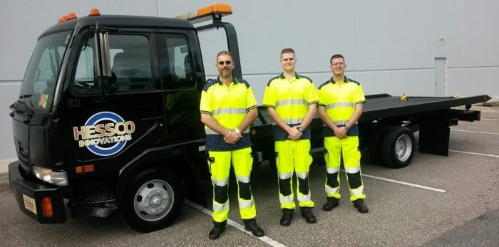 A-Hessco Roadside Assistance Team