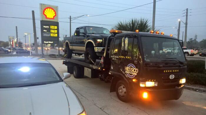 black tow truck jacksonville