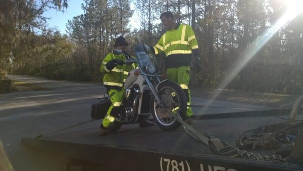 Motorcycle towing jacksonville