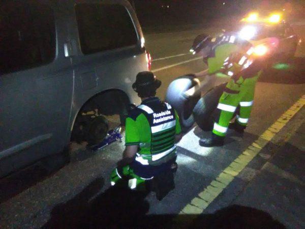 Roadside Assistance Jacksonville - Tire Service