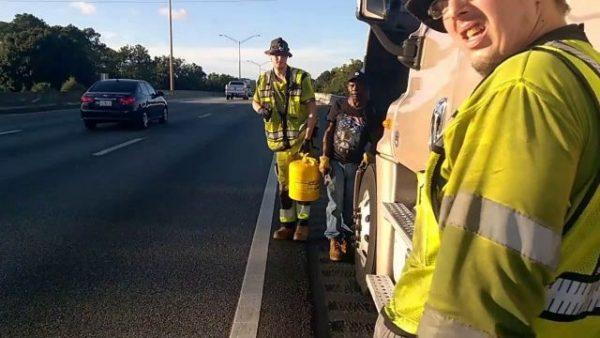 Semi-truck diesel fuel delivery jacksonville